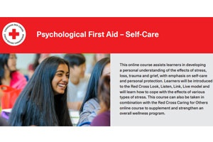 Psychological First Aid – Self-Care