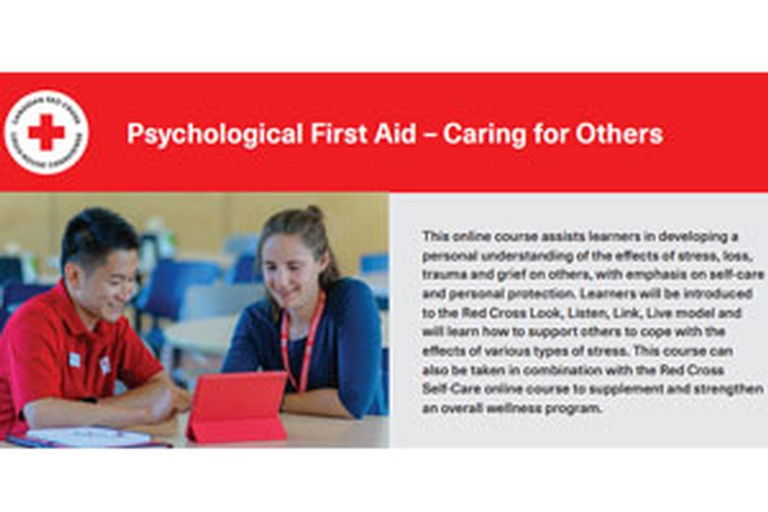 Psychological First Aid – Caring for Others
